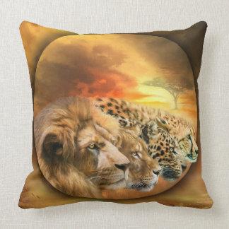 Savannah Spirits Art Designer Pillow