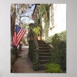 Savannah Staircase Canvas Print