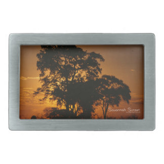 Savannah Sunset Belt Buckle