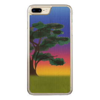 Savannah Sunset by The Happy Juul Company Carved iPhone 7 Plus Case