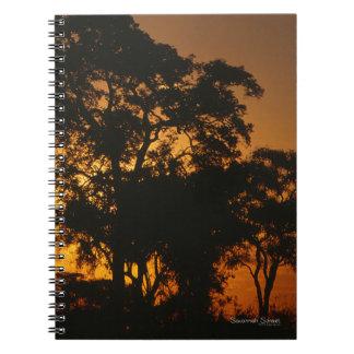 Savannah Sunset Photo Notebook