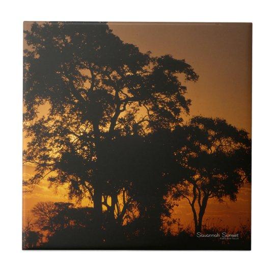 Savannah Sunset Tile