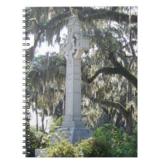Savannah's Celtic Cross Spiral Notebook