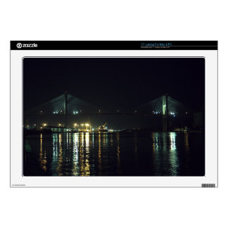"""Savannah's River Walk Decals For 17"""" Laptops"""