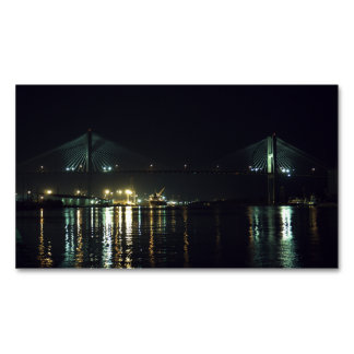 Savannah's River Walk Magnetic Business Card