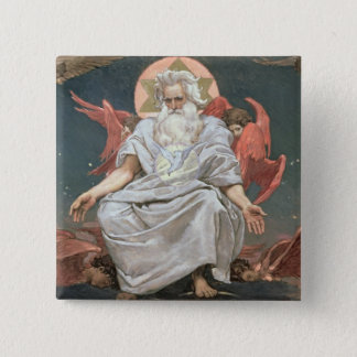 Savaoph, God the Father, 1885-96 Button