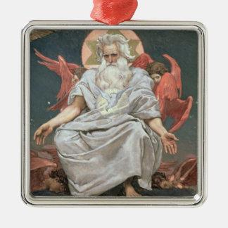 Savaoph, God the Father, 1885-96 Metal Ornament