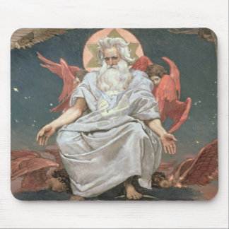 Savaoph, God the Father, 1885-96 Mouse Pad