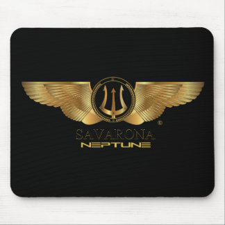 Savarona Neptune Logo Mousepad