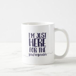 savasana coffee mug