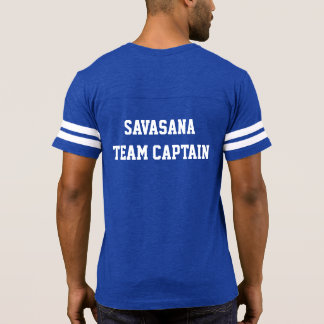 Savasana Team Captain - Spiral Path Yoga T-Shirt