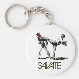 SAVATE impression Keychain