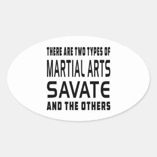 Savate Martial Arts Designs Sticker