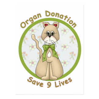 Save 9 Lives Postcard