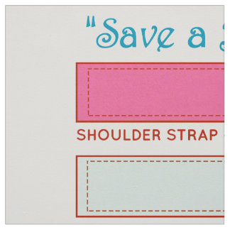 Save a Bag~Save Our Planet~Cut&Sew Bubblegum Pink Fabric