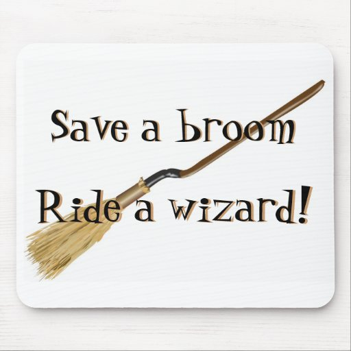 Save A Broom Mousepad
