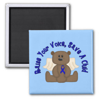 Save A Child 2 Inch Square Magnet