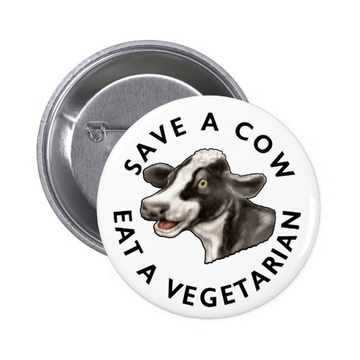 Save A Cow Buttons