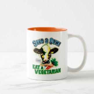 Save a Cow Coffee Mug