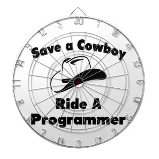Save a Cowboy .. Ride a Programmer Dartboards
