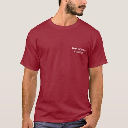 Save a Dog's Life Unisex Shirt, dark colors T-Shirt