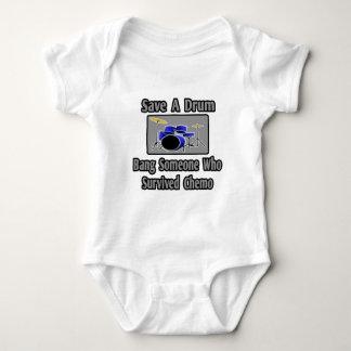 Save a Drum...Bang a Chemo Survivor Infant Creeper