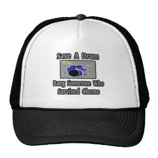 Save a Drum...Bang a Chemo Survivor Trucker Hat