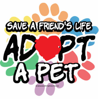 Save A Friend Adopt A Pet Statuette