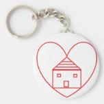 Save A Home Keychains