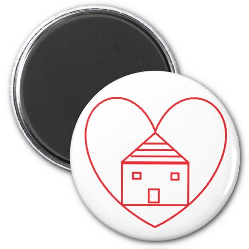 Save A Home Magnet