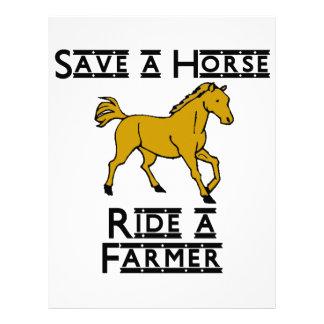 Save a Horse Letterhead