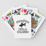 Save a Horse, Ride a Geneticist Bicycle Poker Deck