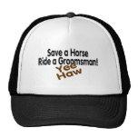 Save A Horse Ride A Groomsman Mesh Hats