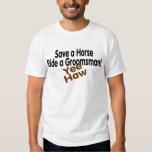 Save A Horse Ride A Groomsman Shirt