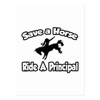 Save a Horse, Ride a Principal Post Cards