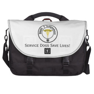 Save a human, support a service dog commuter bags