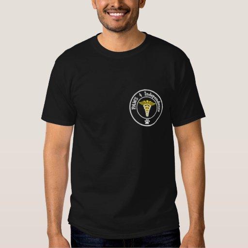 Save a human, support a service dog t-shirt