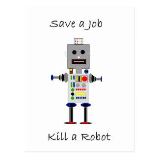 Save a Job Postcard