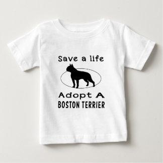 Save a life adopt a Boston Terrier Shirts