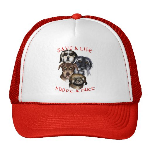 Save A Life_Adopt A Mutt Hat