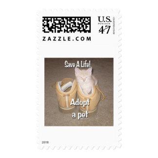 Save A Life Adopt A Pet Postage