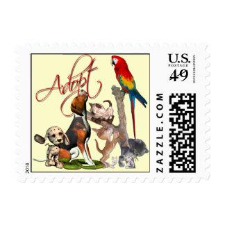 Save A Life, Adopt a Pet Stamp
