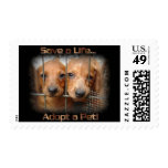 Save a Life Adopt a Pet postage stamps