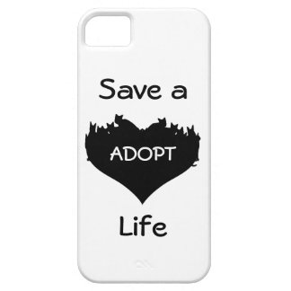 Save a Life, ADOPT Cell Phone Case