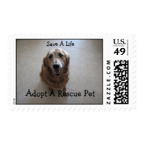 Save A Life - Animal Rescue Postage