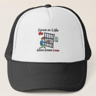 Save A Life Cat Adoption Trucker Hat