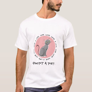 Save A Life, Give Love. T-Shirt