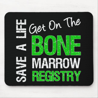 Save a Life Join The Bone Marrow Registry Mouse Pad