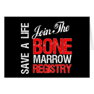 Save a Life Join The Registry Bone Marrow Donor Card