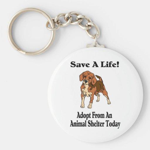 Save A Life Keychain